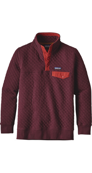 Patagonia W's Quilt Snap-T Cotton Pullover Violet Red